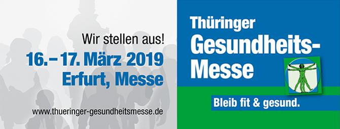 Banner Thüringer Gesundheitsmesse 2019