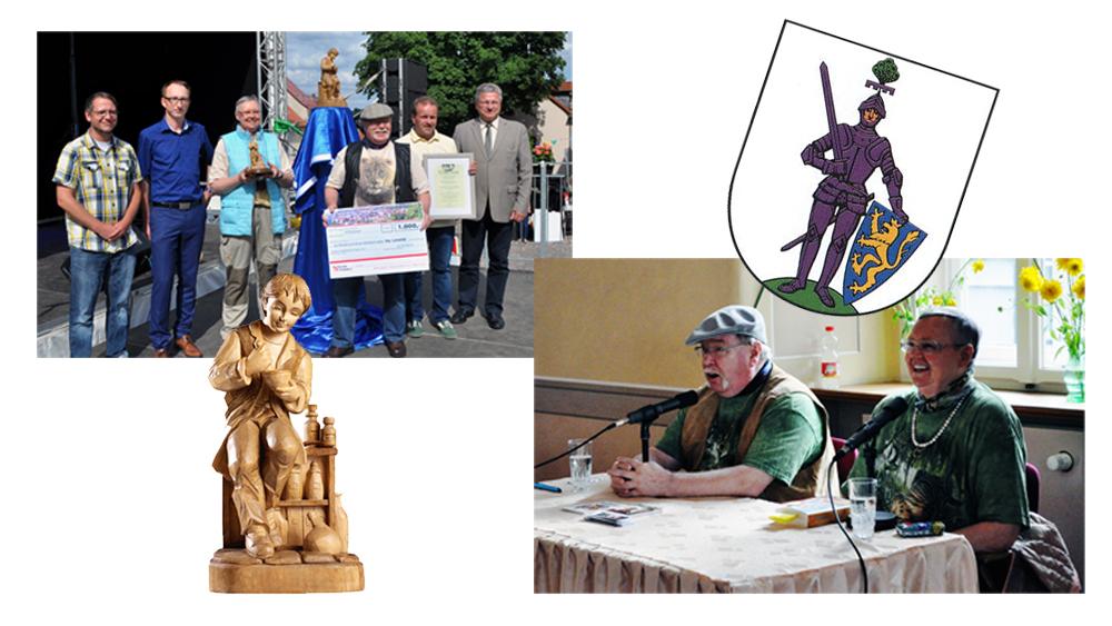 Collage mit Heilkräuterpreis und Iny Lorentz