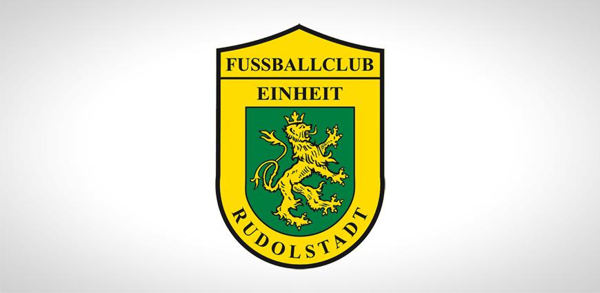 Logo des Fußballvereins FC Einheit Rudolstadt.
