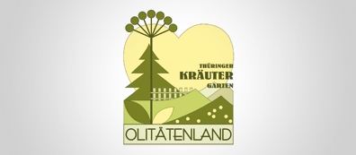 Logo Regional friends' association Thuringian herb garden / Olitätenwege e. V.