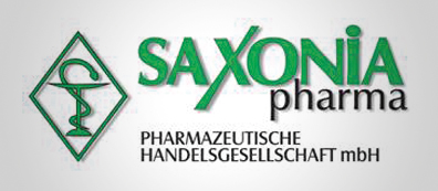 Logo des Pharmagroßhändlers Saxonia Pharma