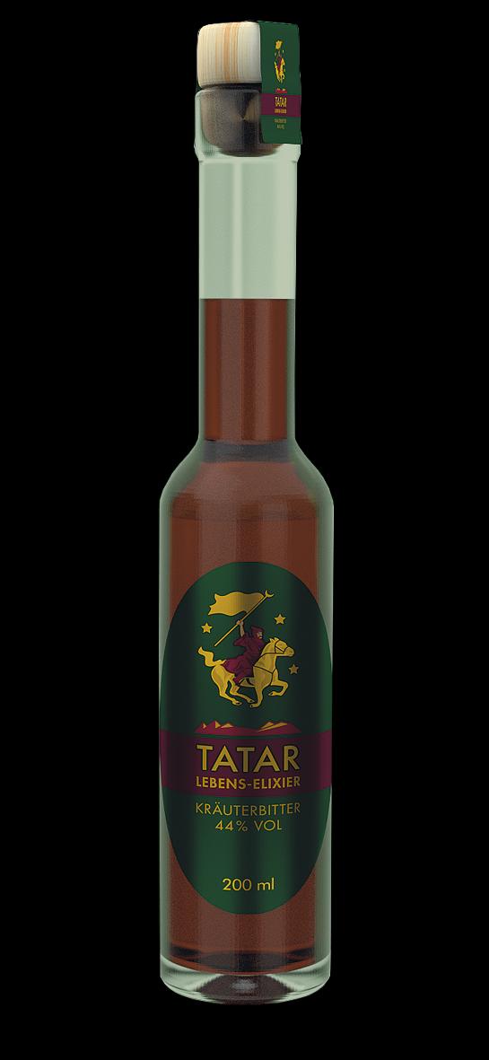 TATAR Lebens-Elixier in der 200 ml Flasche